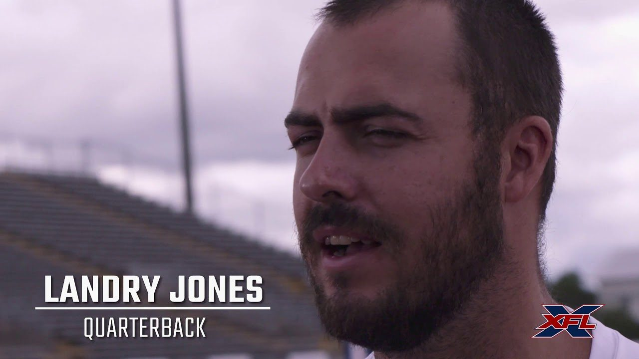 Landry Jones becomes the first QB to sign with the XFL