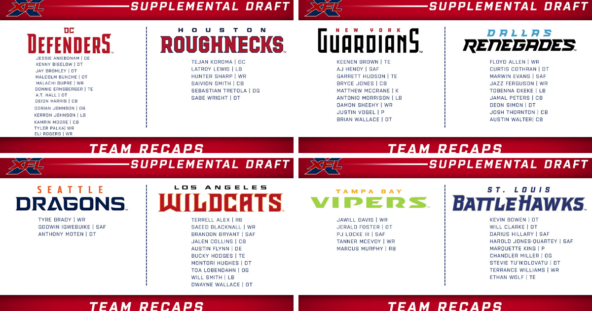 Supplemental Draft Picks