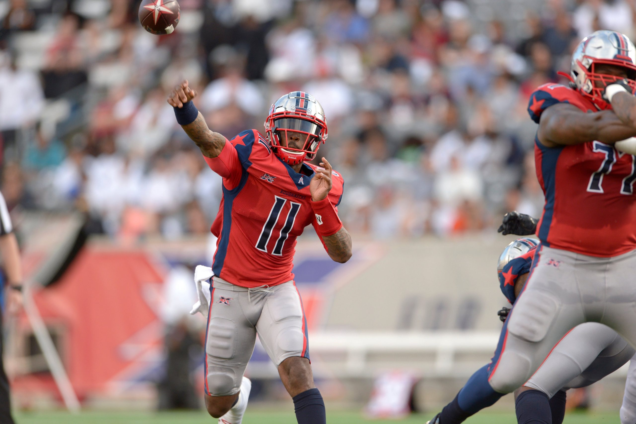 Carolina Panthers Signing Ex-Houston Roughnecks QB P.J. Walker