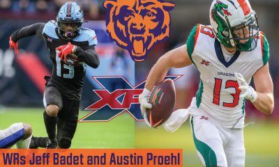 Badet and Proehl workout for Bears
