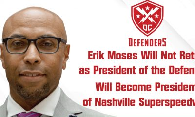 Erik Moses out as Defenders President