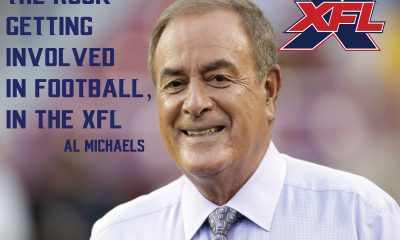 Al Michaels referenced XFL